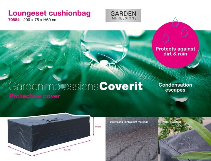 Coverit Kissentasche Loungeset