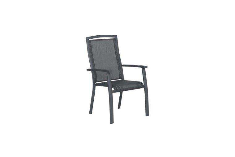Saphir stapelbarer Stuhl