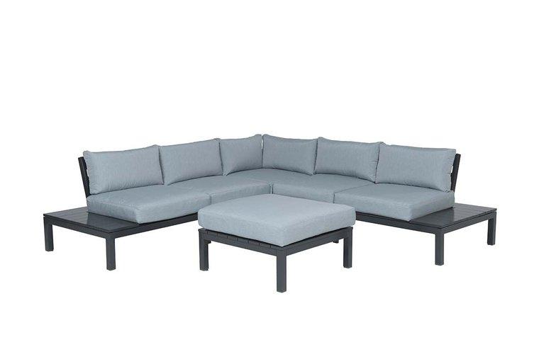 Garden Impressions Annabella lounge set 4-delig - carbon black/ mint grey
