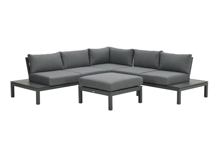Garden Impressions Annabella lounge set 4-delig - carbon black/ mystic grey